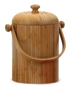 Compost Crock - Bamboo (RSVP)