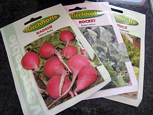 Indoor Vegetable Garden - Vegetable Seeds